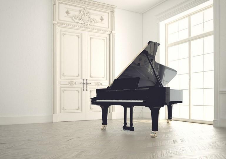 Simple-Atmosphere-Piano-Room-Interior-Design-3D